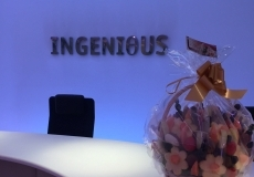 Fruit arrangement delivered to Ingenious by Fruity Gift
