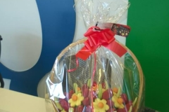Fruit flower bouquet delivered to Google UK by Fruity Gift