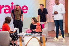 Lisa Riley WatermelonCake at todays Lorraine by Fruity Gift