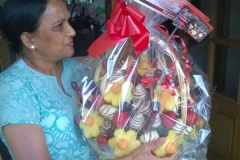 Happy Mother's Day Fruit Bouquet Fruity Gift