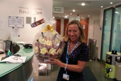 Fruit Basket for Hospital Trust Executive Offices Barts Health NHS