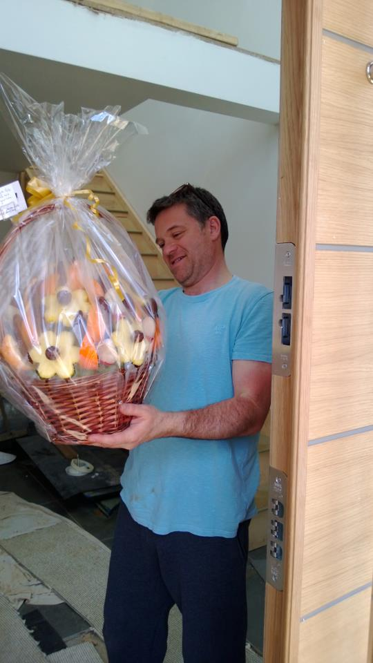 We delivered a smile with our Edible Arrangements delivered to congratulate there New Home.