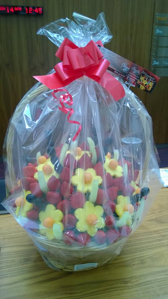 Thank you Fruit Gift delivered to business addresses in and around Liverpool.