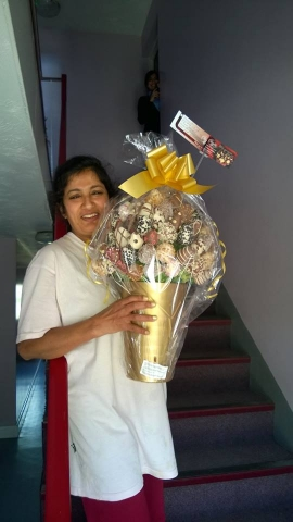 Happy Diwali Chocolate Bouquets delivered in and around Mnachester/