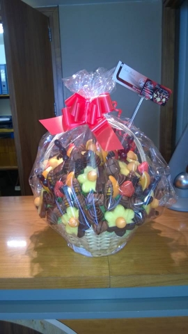 Gift Baskets delivered Next-Day in and around Southampton.
