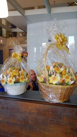 Edible Fruit Hamper deliverd to International Maritime Organization Embankment London.