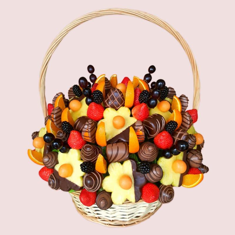 Edible fruit bouquets in uk fruit baskets fruit flowers london negle Gallery