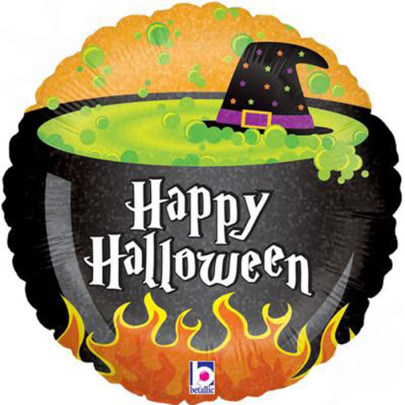 Fruity Gift: Halloween Cauldron balloon