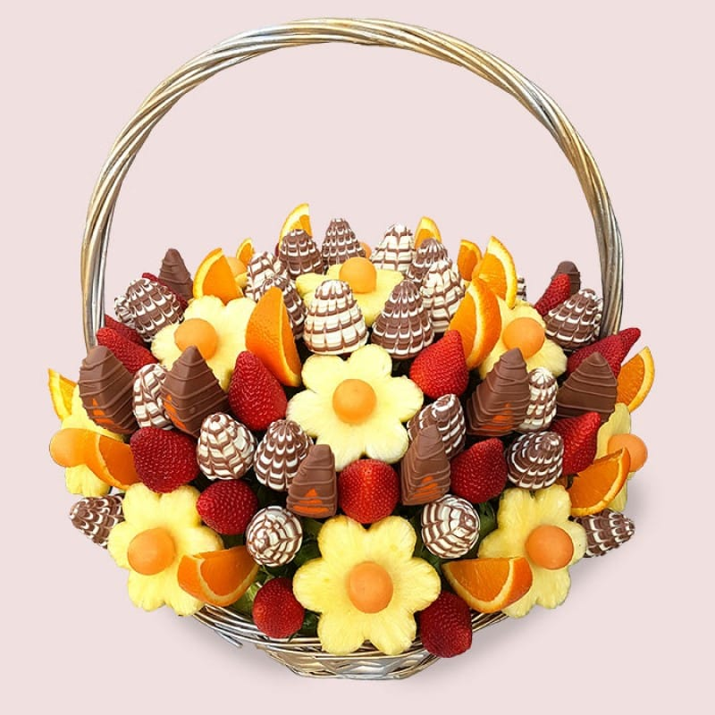 Fruity Gift Royal Fruit Bouquet Fruit Flowers