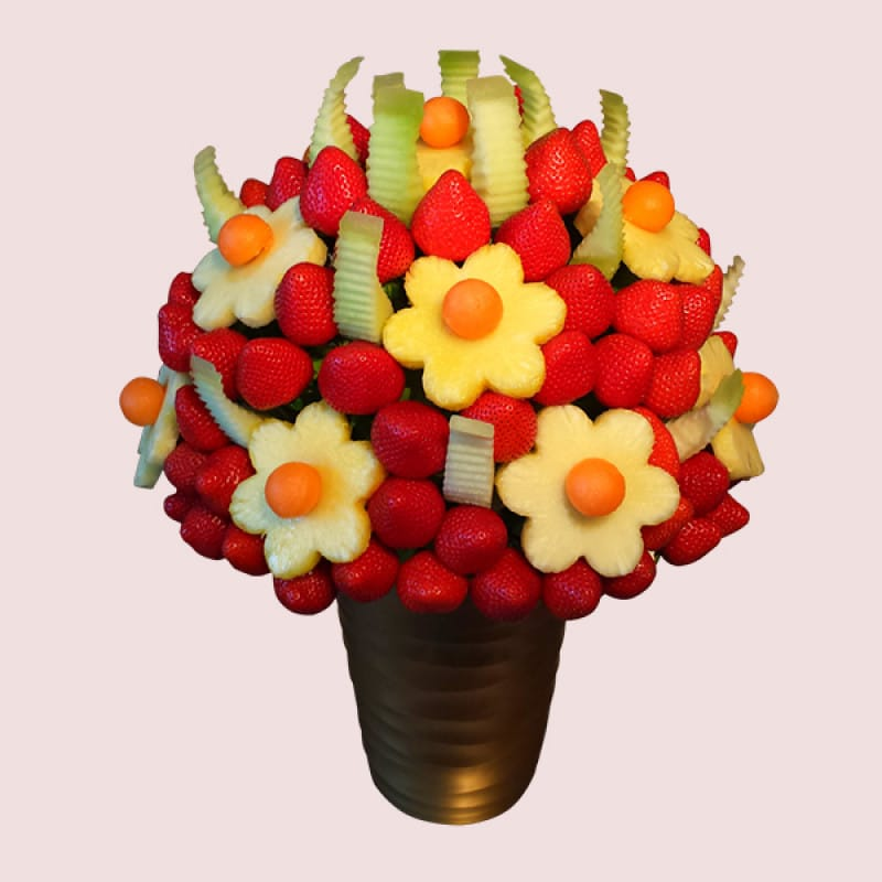 Fruity gift strawberry fruit bouquet fresh fruit Fruit bouquet