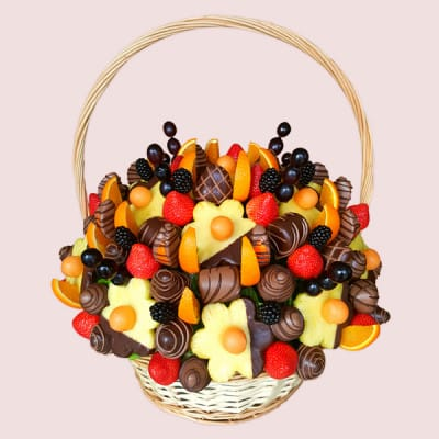 Dark Queen Fruit Basket