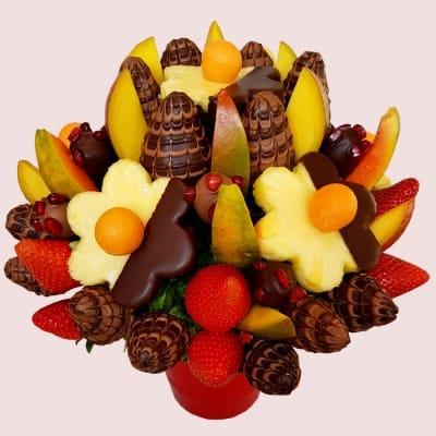 NEW! Majestic Fruit Arrangement