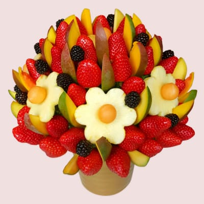 Mango & Berries Fruit Bouquet